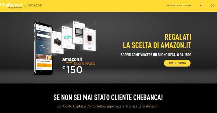 Conto Corrente Bonus Amazon