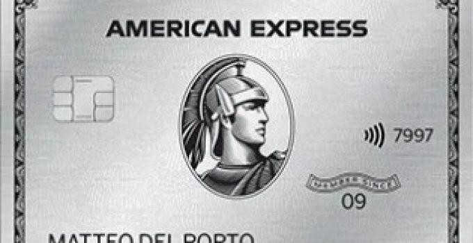Carta Platino Amex