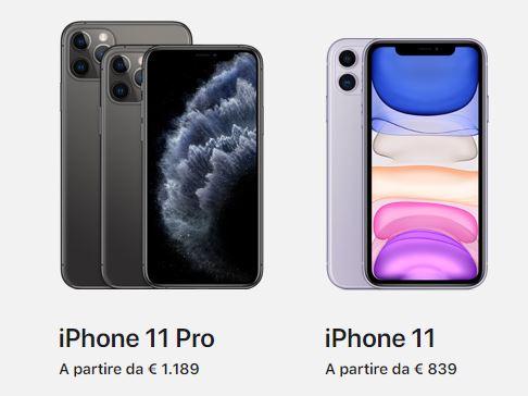 iPhone 11 Italia