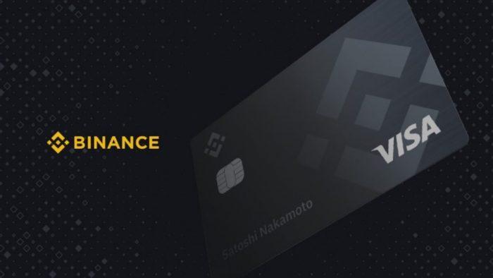 Carta Visa Binance